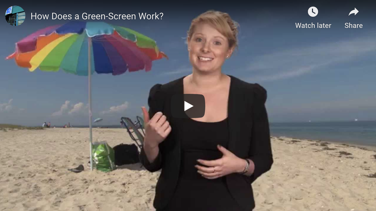 How Does a Green Screen Work
