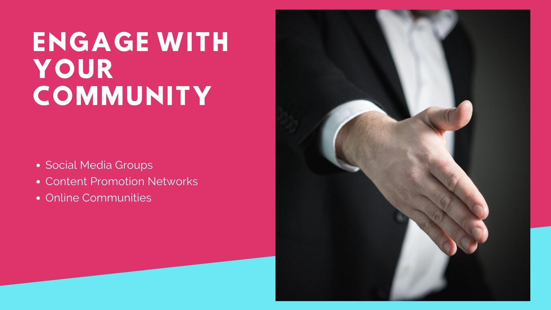 Content - Engage with your community