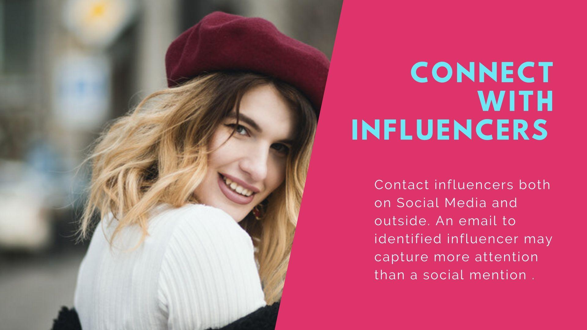 Content - Connect with influencers