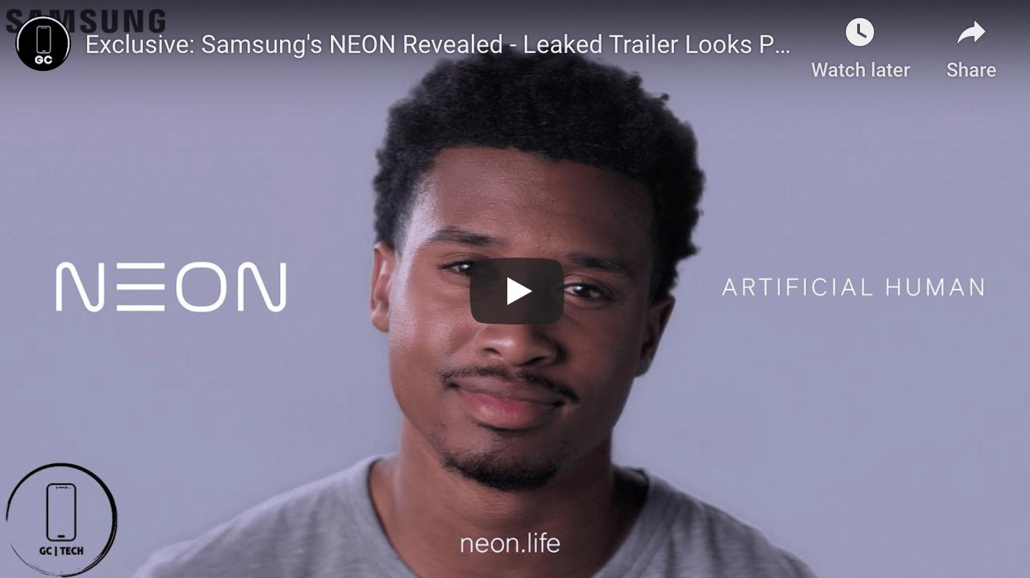 Samsungs NEON