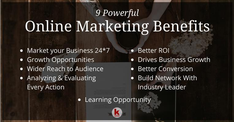 Here Are Some Benefits Of Online Marketing