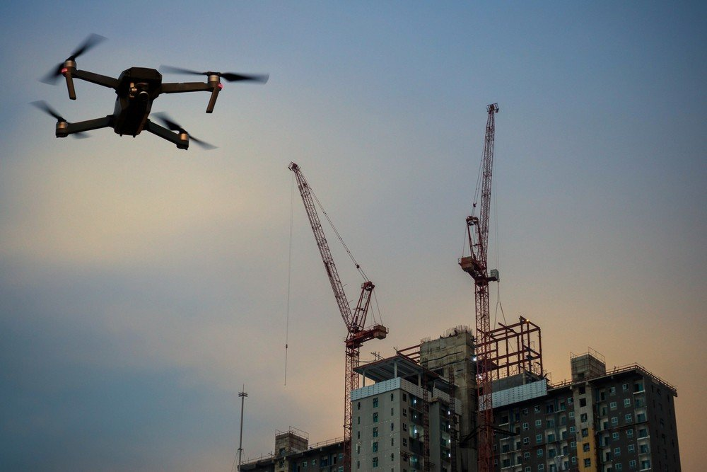 Applications of Drones in Construction