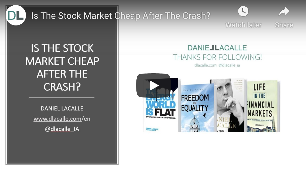 Is The Stock Market Cheaper After The Crash