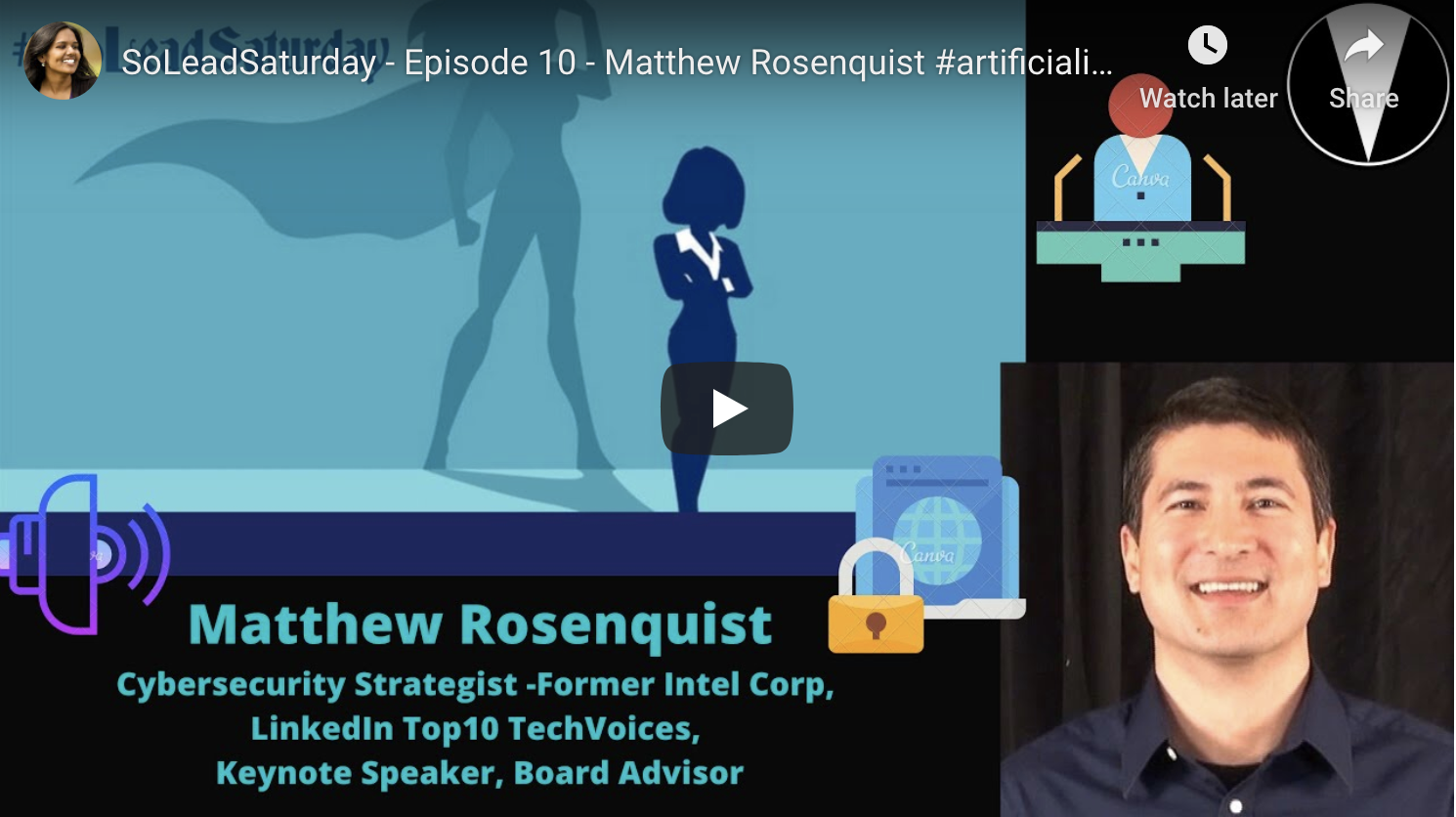 SoLeadSaturday Episode 10 Matthew Rosenquist